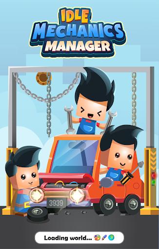 Idle Mechanics 3D Manager screenshot 1