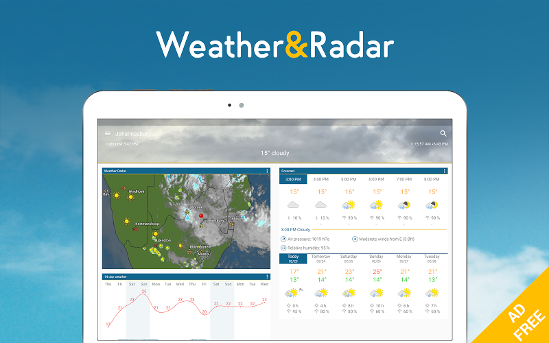 Weather & Radar Pro - Ad-Free Screenshot 5