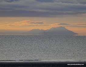 Photo: Mt Augustine, one of the active volcanoes off the Alaska Peninsula