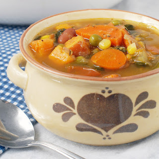 Homemade Vegetable Soup No Meat Recipes.