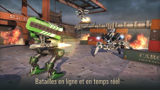 Code Triche WWR: Robot Jeux de Guerre en ligne  APK MOD (Astuce) screenshots 1