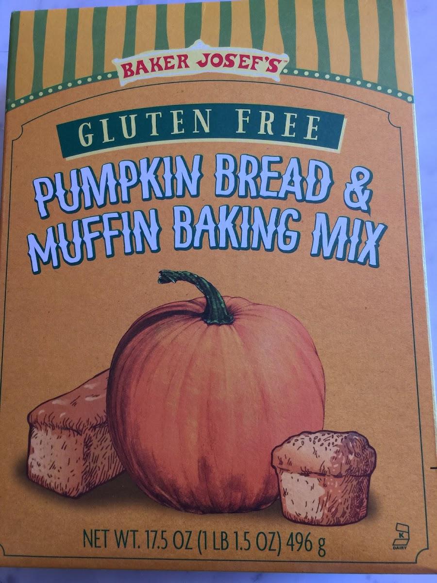 Gluten free Pumpkin Bread & Muffin Baking Mix