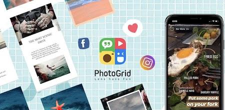 دانلود PhotoGrid: Video & Pic Collage Maker, Photo Editor