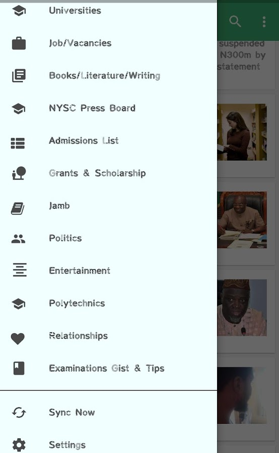 Nigeria Student Forum- screenshot