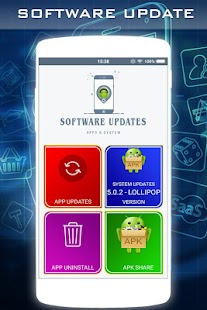 Update Software for Android - náhled