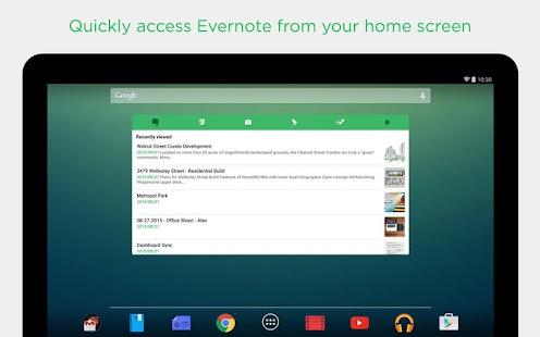 Evernote- screenshot thumbnail