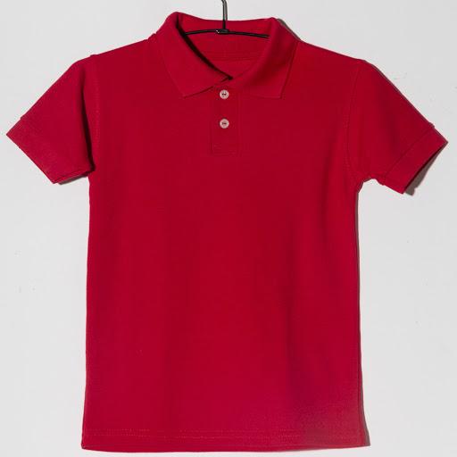 chemise escolar m2f roja niño talla 2