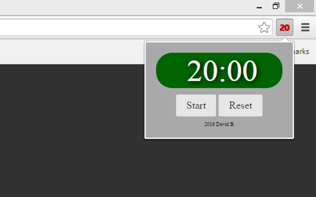 20 Minute Timer