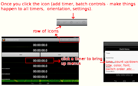 Multi Stopwatch & Timer  free screenshot 18