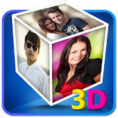 3D Cube Live Wallpaper Photo Editor