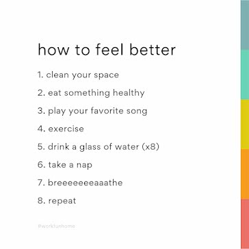 How to Feel Better - Instagram Post Template