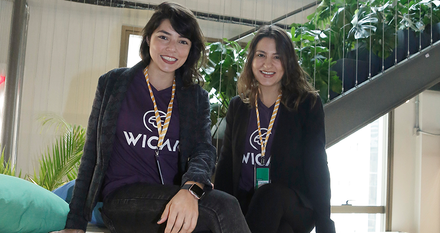Andressa e Magali, fundadoras da WiCar