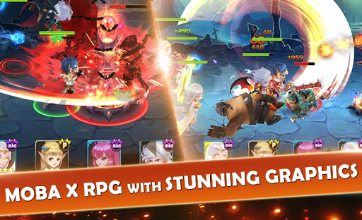 Code Triche Seven Paladins SEA: 3D RPG x MOBA Game APK MOD screenshots 2