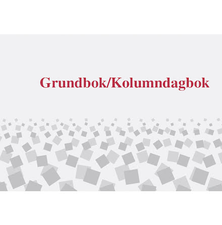 Grundbok/Kolumndagbok A4L