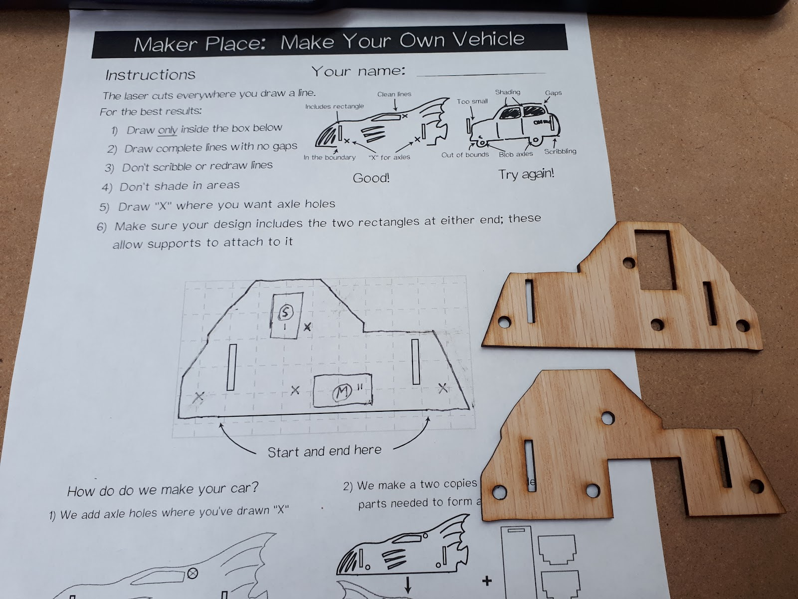 Project | Laser Cut Cardboard Robot Construction Kit | Hackaday.io