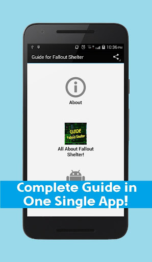 Guide for Fallout Shelter