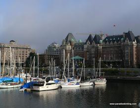 Photo: Victoria small boat harbor, Vancounver Island, B.C.