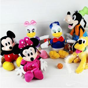 0 Set 6 jucarii de plus cu personaje Disney oferta 2