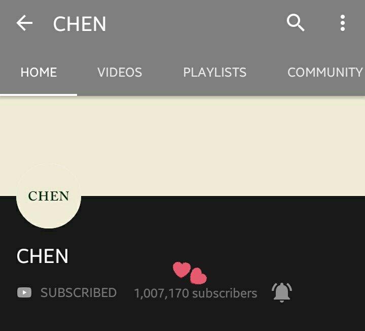 chen youtube