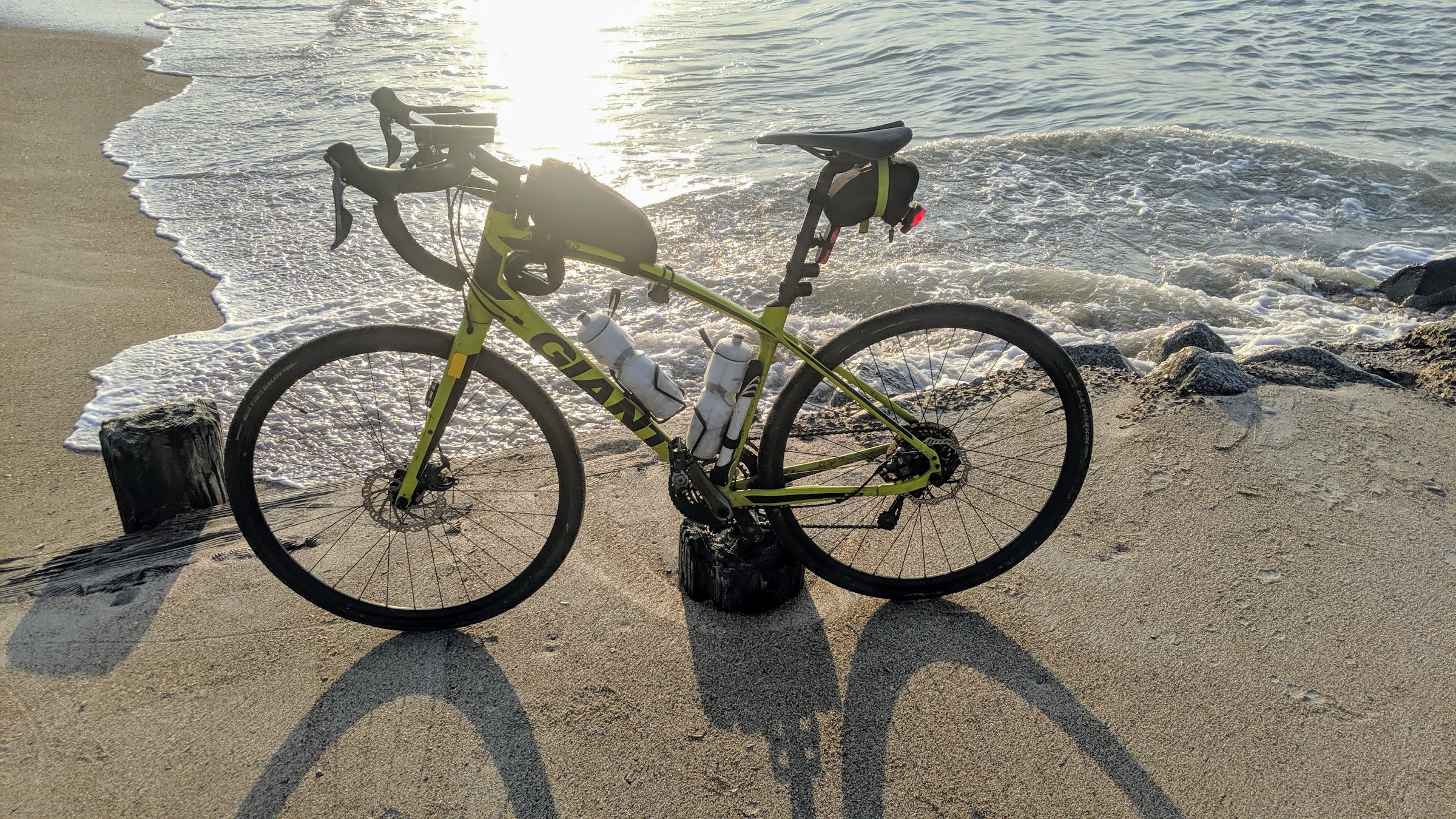 Bike on Edisto Beach SC