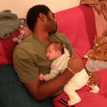 Photo: A sleeping trio