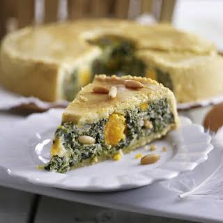 Italian Spinach Pie.