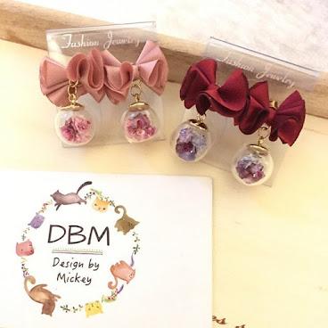 🇰🇷蝴蝶結玻璃球系列🇰🇷 飾物 耳環 多色,有現貨 現售$99,買滿$100以上包郵‼️ Made in Korea ♥️ 有興趣可以上Facebook page:DBM 日韓連線