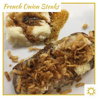 French Onion Steaks Recipe