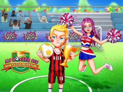 Soccer Day with Sister - Play Sports - náhled