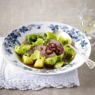 Venison with Brussels Sprouts and Potatoes