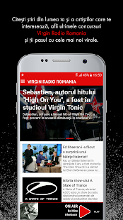 Virgin Radio Romania- screenshot thumbnail