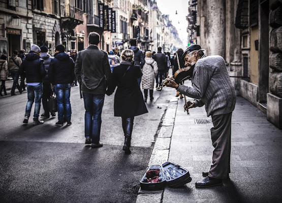 The Violinist di Pierferdinando Di Nuzzo