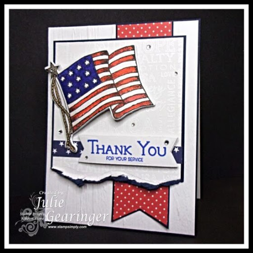 A Military Thank You For Your Service – by Julie Gearinger