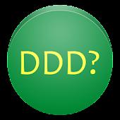 DDD de onde?