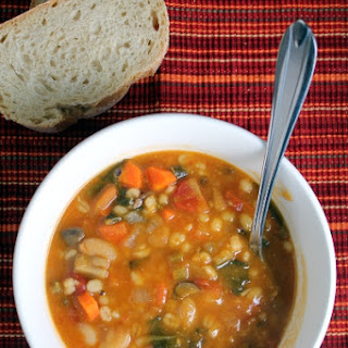 Tomato, Bean, And Barley Soup