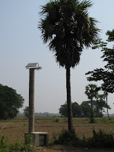 Photo: Solar streetlight locally built and installed