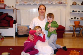 Photo: Jana s dětmi - Jana with kids
