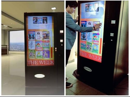 Touchscreen Vending Machine For Magazine at Best Price in Mumbai,  Maharashtra   CHEVEND TECHNOLOGIES PVT. LTD.
