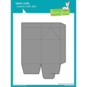 Lawn Cuts Custom Craft Die - Milk Carton
