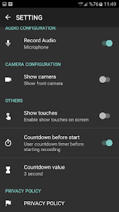 HD Screen Recorder - No Root Pro Screenshot