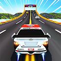 GT Racing Stunts: Tuner Car Uphill Mountain Climb icon