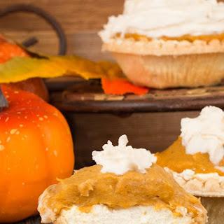 Pumpkin Cheesecake Tarts.