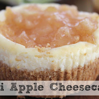 Mini Apple Cheesecakes | The Perfect Portion Control!