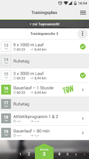 Running Fitness - Der Lauftrainingsplan Generator - náhled