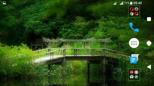 Nature Nougat Theme For Xperia screenshot 5