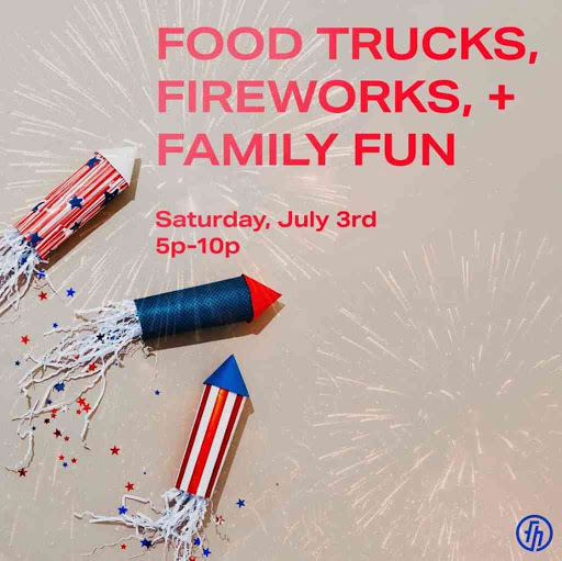 Tailgate and fireworks at Freedom House Church