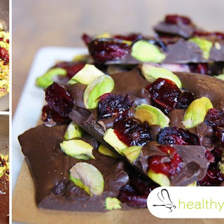 5-Ingredient Anti-Inflammatory Pistachio Bark with Cacao, Coconut OIl and Raspberries