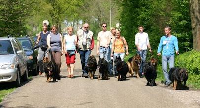 Photo: Het A-team aan de wandel