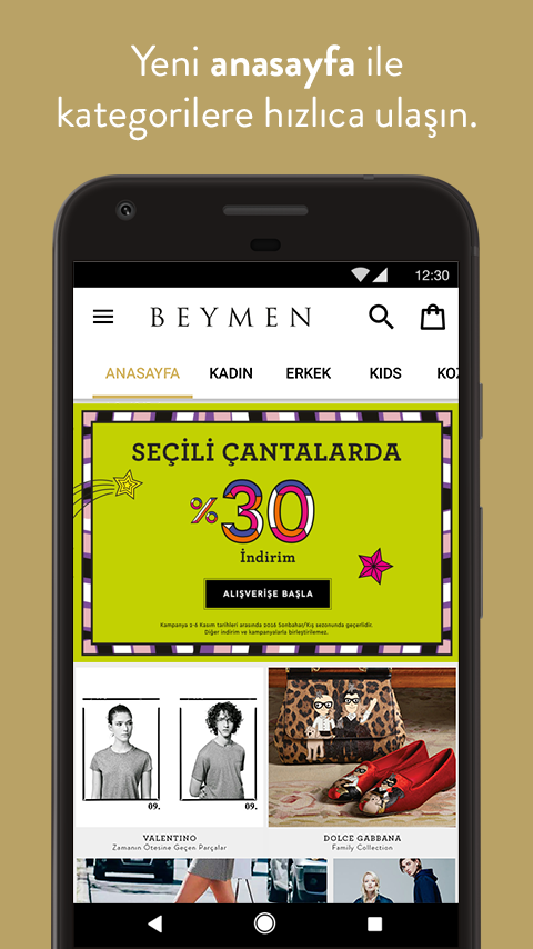 Beymen- screenshot