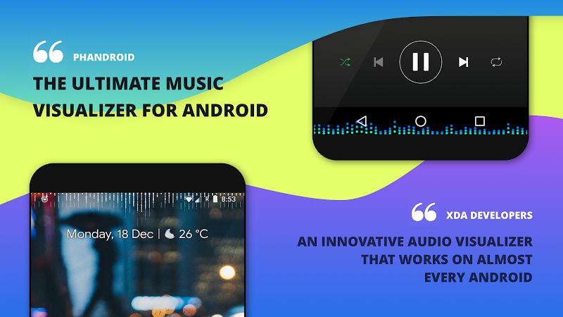 MUVIZ Navbar Music Visualizer v5.0.5.0 [Pro Mod] SAP APK [Latest]